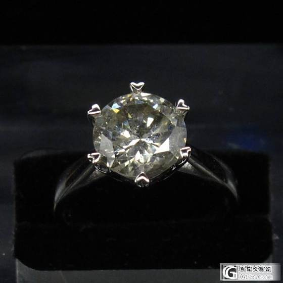【大肥猫珠宝】2.39克拉钻戒 35000_钻石
