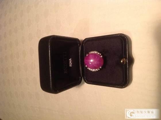 各位看看这枚戒指值多少银子_红宝石