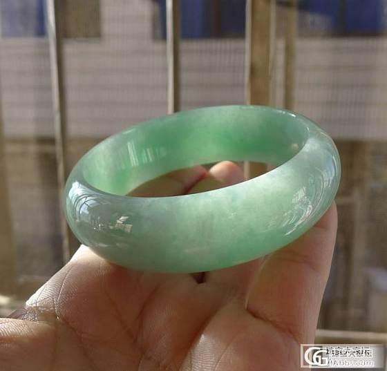 【佳人美玉】双12特价满绿胖手镯-60【已售】_翡翠
