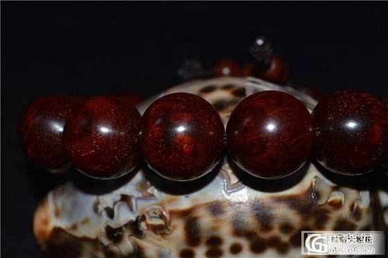 印度小叶紫檀、高密度瘤疤带星同料、老料1.5cm*15颗手串_文玩