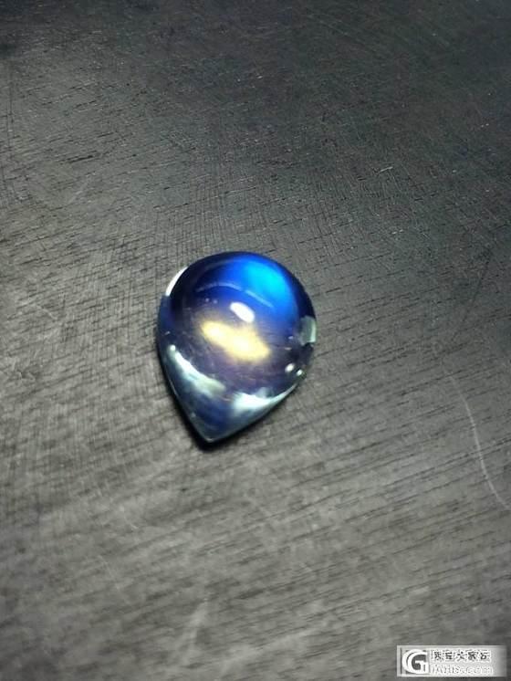 六月生辰石:月光石 斯里兰卡顶尖月光石蛋面 第一团_博物馆