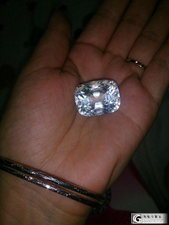 四十四克拉的海蓝宝石值多少钱,有证书_海蓝宝刻面宝石