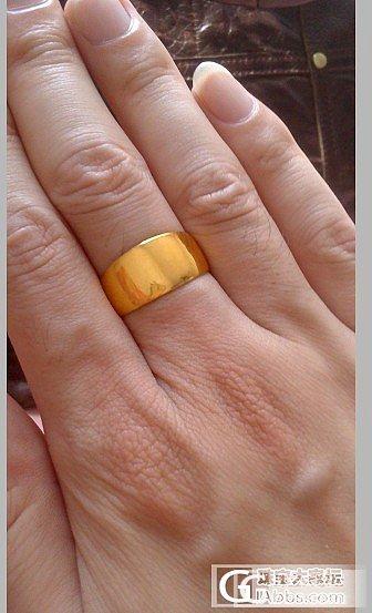 5.1金价不给力 入手明牌戒指一个_戒指金