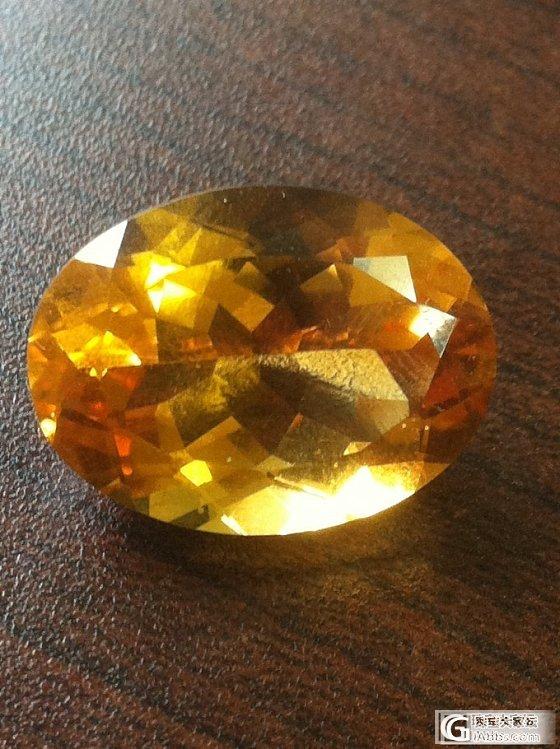 入了两款黄水晶,大家评评!  估个价_刻面宝石