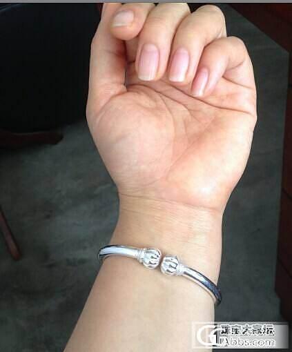 我的珍南瓜终于到手喽。。_手镯银