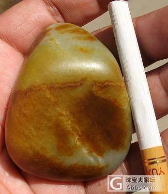 108克 黄沁皮 原石_传统玉石