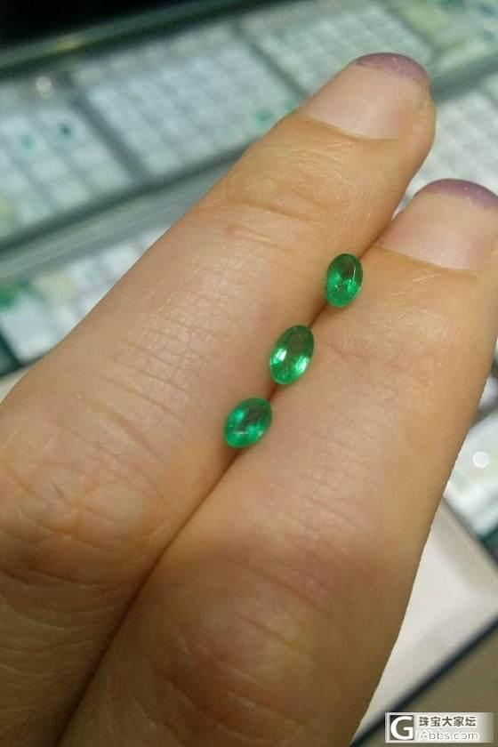 上次团的祖母绿红蓝宝戒指出炉了,另外有祖母绿和黄蓝宝裸石团购_珠宝