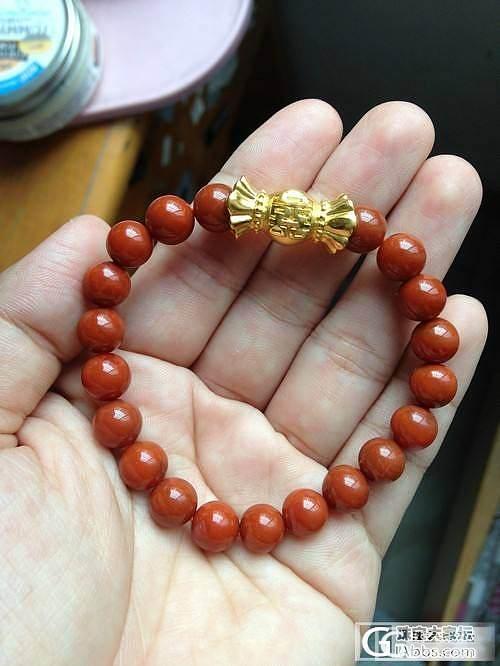 最近穷的叮当响了...只敢买很喜欢很喜欢的了...求闪闪,必还哦_南红串珠戒指金福利社