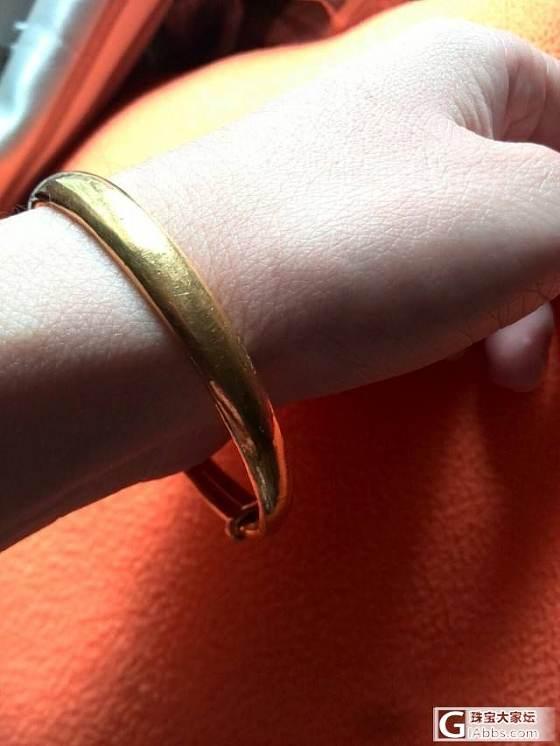 今天戴的小镯和手链~~~_金