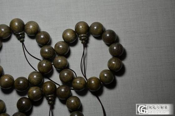 【紫云檀舍】金丝楠老料20mm手串+阴沉金丝楠绿料20mm+极品满水波纹的金丝楠15mm_珠宝