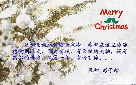 【医神】给你一个温暖的白色圣诞节。。。二轮感恩特价中_医神