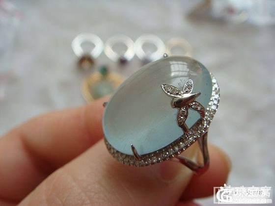 海蓝宝戒指一枚。。。新增上手照_海蓝宝刻面宝石