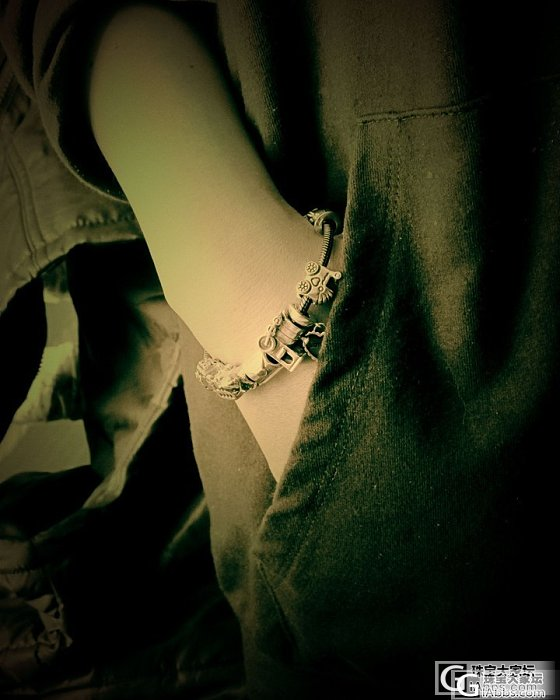 。。。正山结合的潘潘。。。拆拆串串。。。凝固回忆。。。_手链银