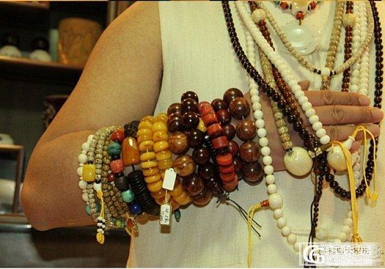 我的名字叫——统统DIY 霸气的胳膊_蜜蜡菩提子手链串珠工艺