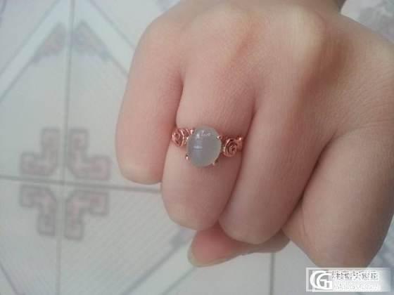 盼了20天,我的翡翠戒指终于镶嵌完了,show time~_翡翠