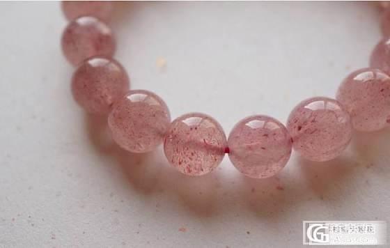草莓晶,10mm以上珠子平价转._宝石