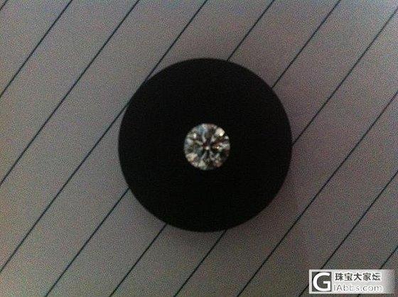 晒晒刚从国外买回来的克拉钻 证书随后就到 嚯嚯_钻石