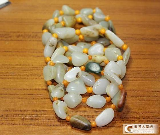 出售几条籽料手串_传统玉石