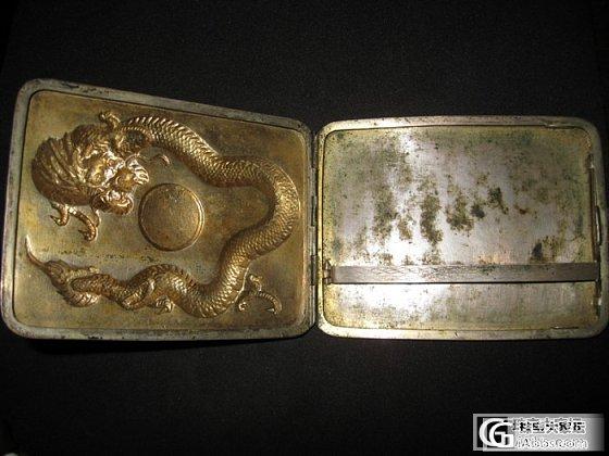 家里长辈珍藏的老银烟盒,大家一起来欣赏_老银