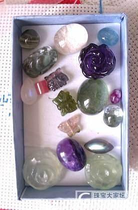 戒面(绿幽灵,白幽灵,海蓝宝,紫龙晶,蓝月光,拉长)_宝石
