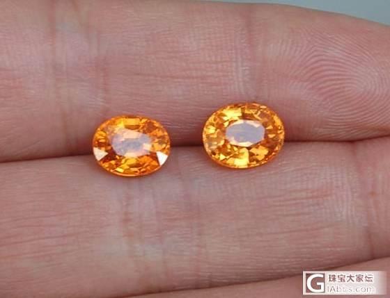 12月新货   石榴石鼻祖------心形沙沙   芬达橙_宝石