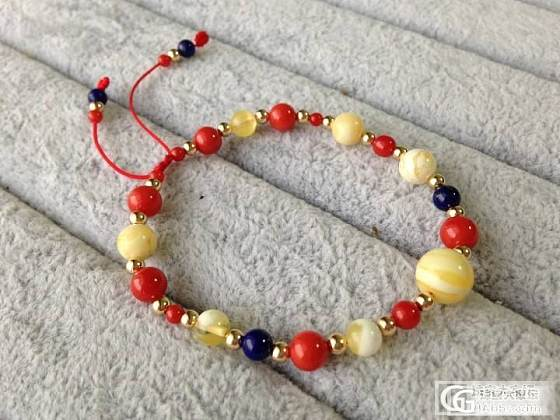 【浮木精品】超特别个性款公主手链~给你一款与众不同的优雅~_有机宝石
