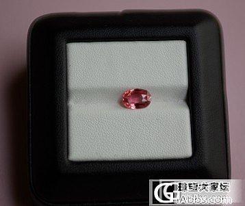 2.14克拉padparadscha 色尖晶石戒指_戒指尖晶石刻面宝石