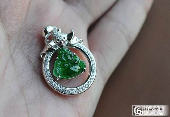 缅甸A货翡翠 阳美大师雕刻 工美传神 种老水足 满绿冰种 玉_翡翠