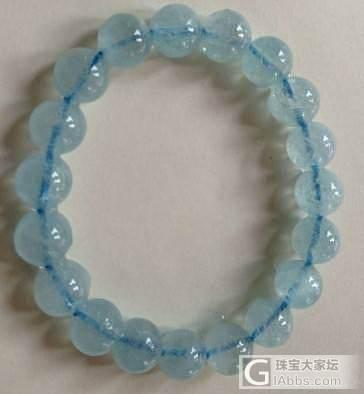 请大家帮忙看看我刚刚买的海蓝宝_海蓝宝刻面宝石