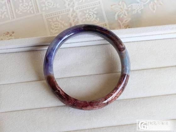 舒俱来多彩手镯 星际紫 天蓝色 大地色 内径54_宝石