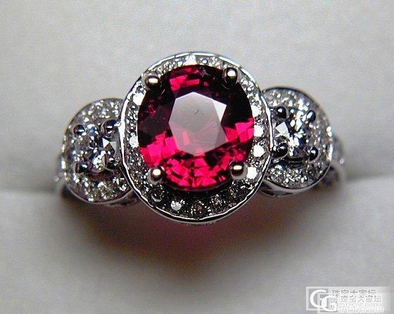 颜色很好的尖晶石戒指_戒指尖晶石刻面宝石