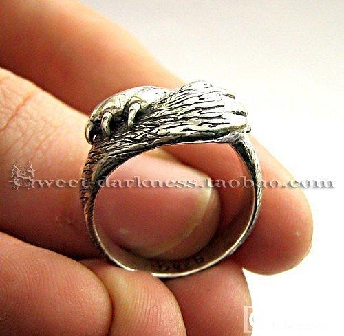 发个猫爪戒指,大家看看喜欢不_珠宝