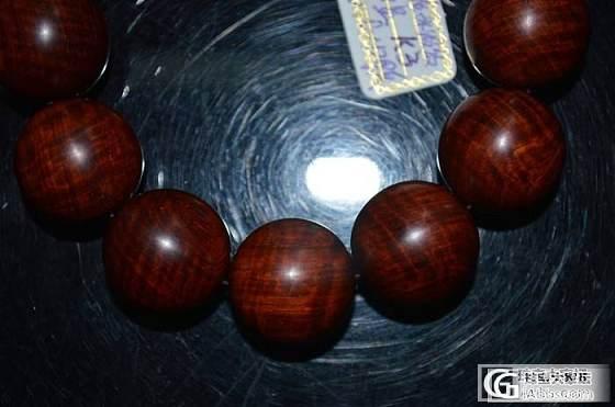 印度小叶紫檀、精美水波纹带星同料、老料2.0cm*12颗手串k3_文玩