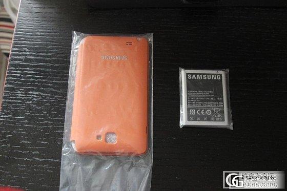 转-三星i9228原装电池和原装壳(全新)_珠宝
