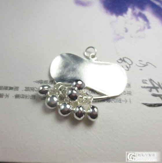 转一个美貌手工银荷花锁*做如莲花般优雅自如的清淡女子_珠宝