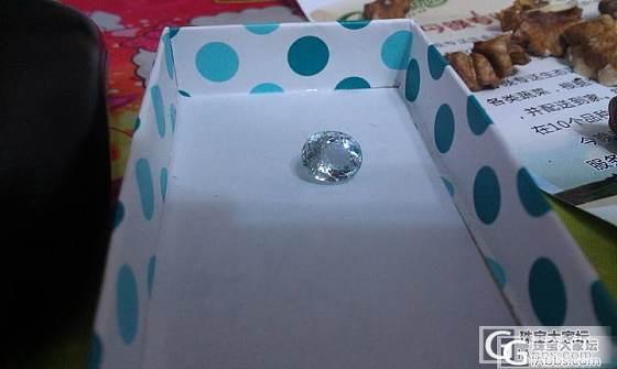 新入的海蓝宝 偶的第一颗彩色宝石_海蓝宝刻面宝石