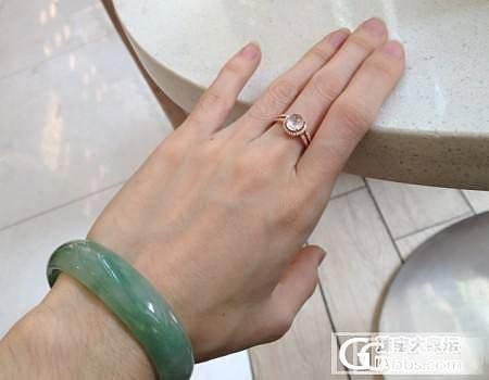 【Dudu】3个小灯泡白蛋戒指(已售2个)_翡翠