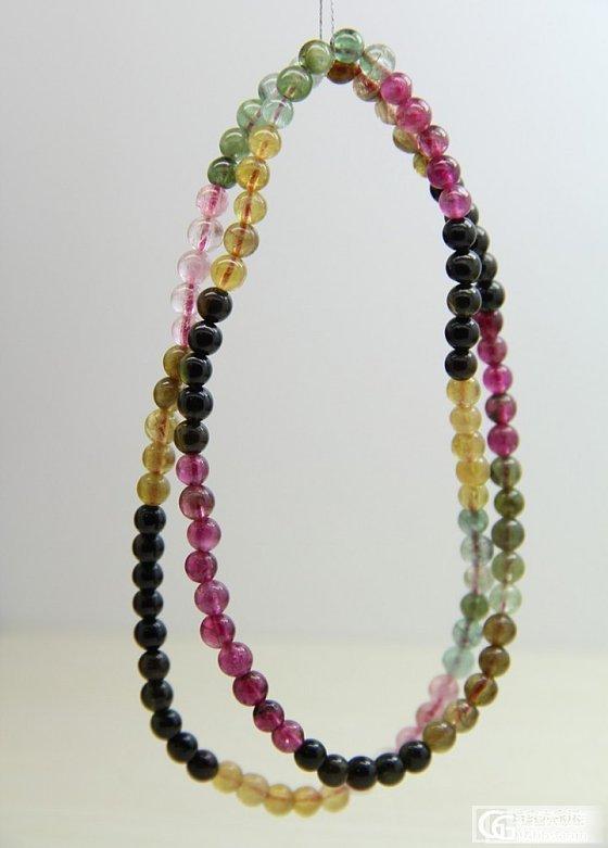 低价碧玺多圈手串 5mm珠子 低价出售 可小刀  批发价出售_宝石