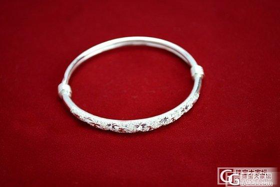 每克10元亏本转一批S990千足银满天星手镯多种款式_银