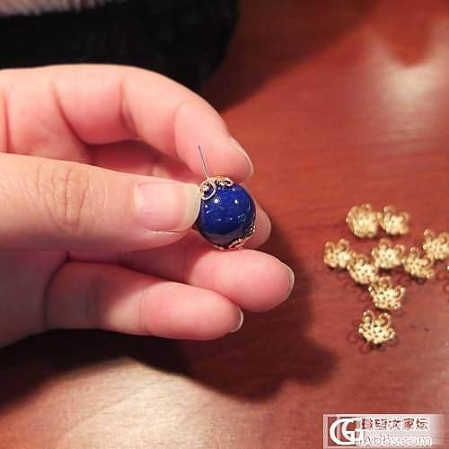 青金石14mm大珠,DIY吊坠一枚,请欣赏_青金石