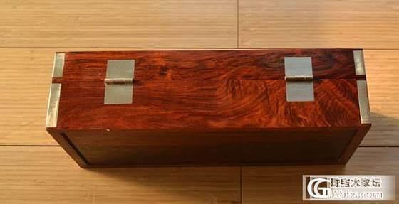 精美红酸枝独板大首饰盒 有火焰纹600包邮 !_文玩