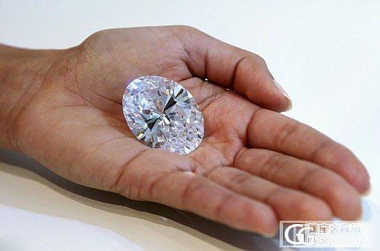 118克拉的椭圆形白钻_钻石