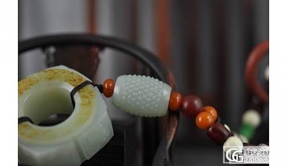 和田玉籽料 兽面玉琮 高脂 干净 细腻 油润_传统玉石