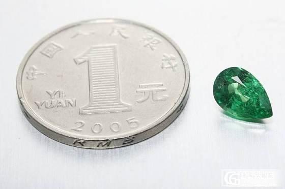 2.01CT  水滴形  沙佛莱  便宜出_宝石