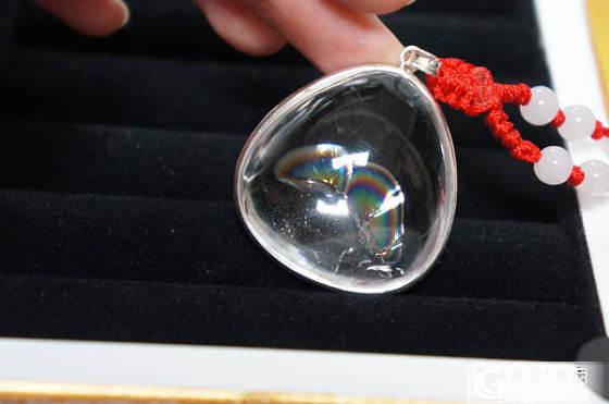 登首页了~谢谢大家!我的珠宝箱~部分俺滴珠宝~还有今天到的异象水晶-彩翼!!!大爱啊..._项链吊坠戒指手链幽灵晶