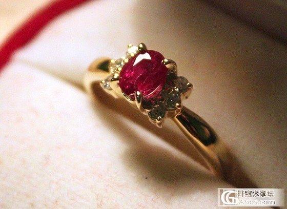 新手请各位大大帮我鉴下我的红宝戒指_红宝石