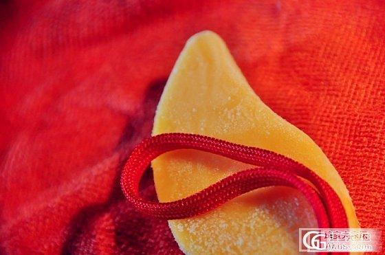 秦公子收藏——黄翡,还是蜜蜡?如此大的手把件实在难得!_翡翠