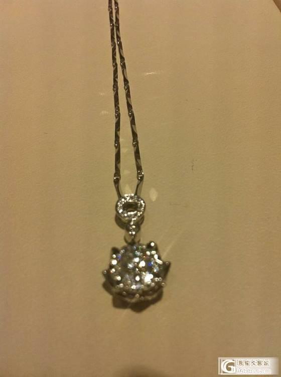 这样的钻石吊坠有人喜欢吗?_钻石