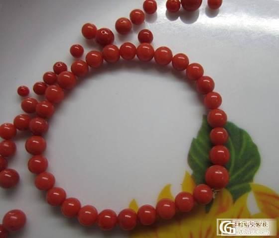 上批出完了在来一批MOMO红珊瑚桶珠和沙丁项链和手链_有机宝石