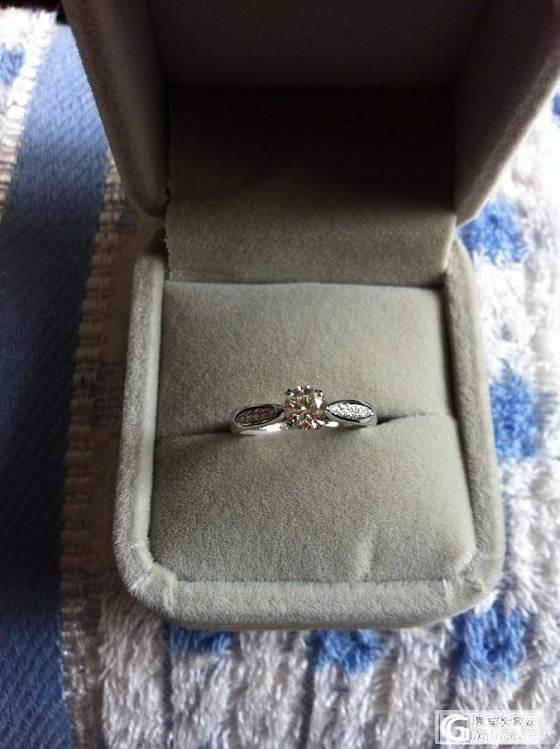 一个小婚戒_戒指钻石
